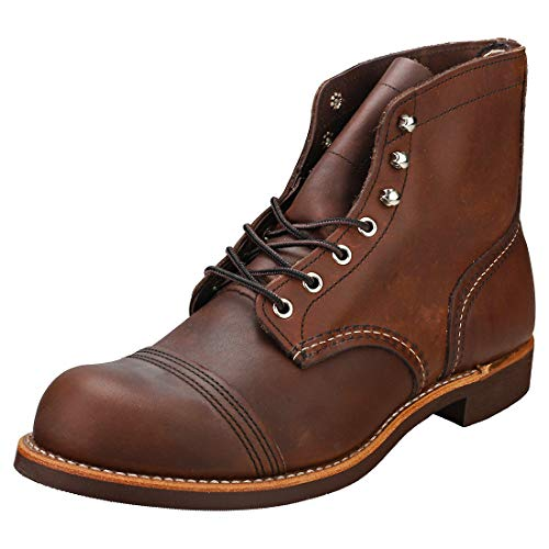 Red Wing Heritage Iron Ranger 6-Inch Boot, Black Harness, 6.5 D(M) US