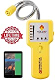 Y201 Propane and Natural Gas Leak Detector; Portable Gas Sniffer to...