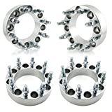 OrionMotorTech 8x6.5 Wheel Spacers 2 inches with 9/16-18 Studs...
