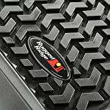 Rugged Ridge 12988.04 Floor Liner, Front/Rear/Cargo; Black, 2011-2018...