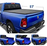 Tyger Auto T3 Soft Tri-Fold Truck Bed Tonneau Cover Compatible with...