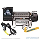 Superwinch 1595200 Tiger Shark 9.5, 12 VDC Winch, 9,500 lb/4,309 kg...