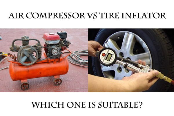 Air Compressor Vs Tire Inflator