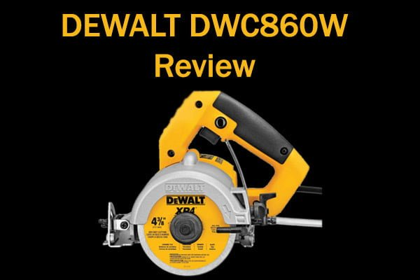 DEWALT DWC860W Review