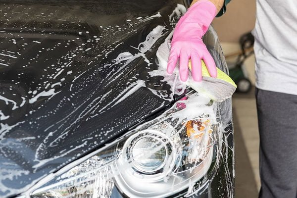 How to wash a car at home