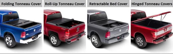 types of tonneau cover