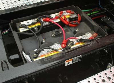 Truck battery maintenance
